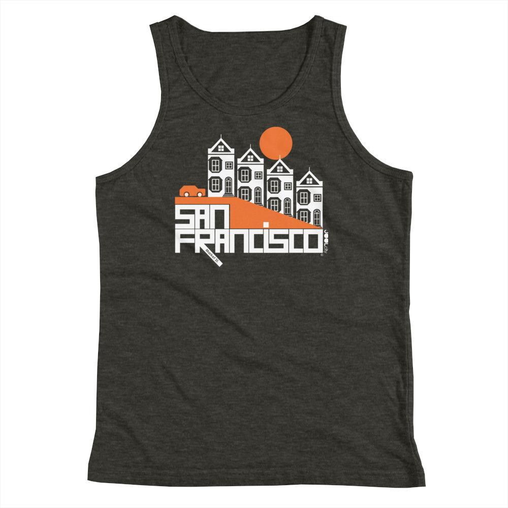 San Francisco Painted Ladies Youth Tank Top