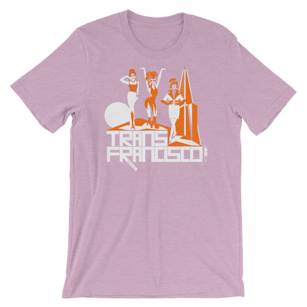 San Francisco Trans Town Short-Sleeve Men's T-Shirt T-Shirt Heather Prism Lilac / 2XL designed by JOOLcity