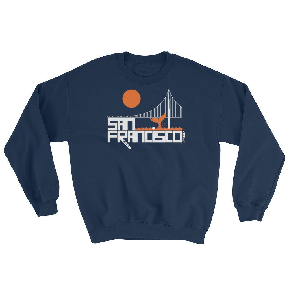 San Francisco Whale Tail Sweatshirt