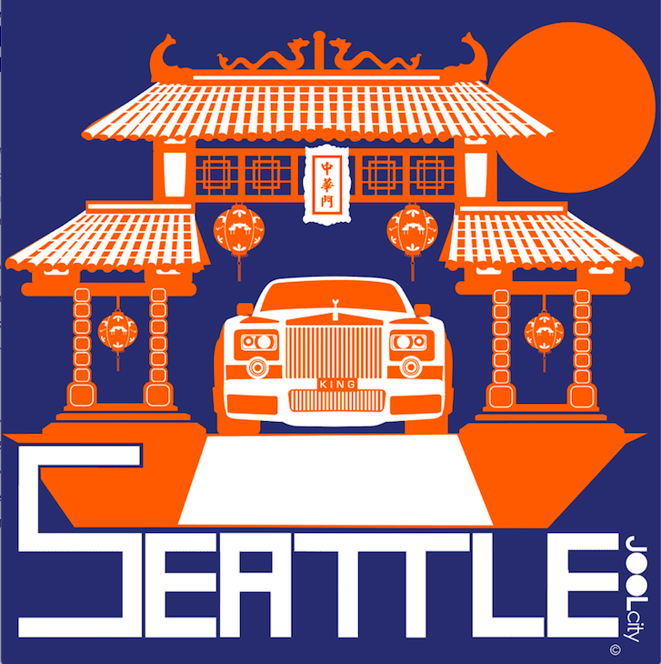 Seattle Chinatown Rolls Baby Onesie