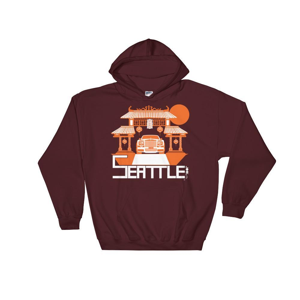 Seattle Chinatown Rolls Hooded Sweatshirt