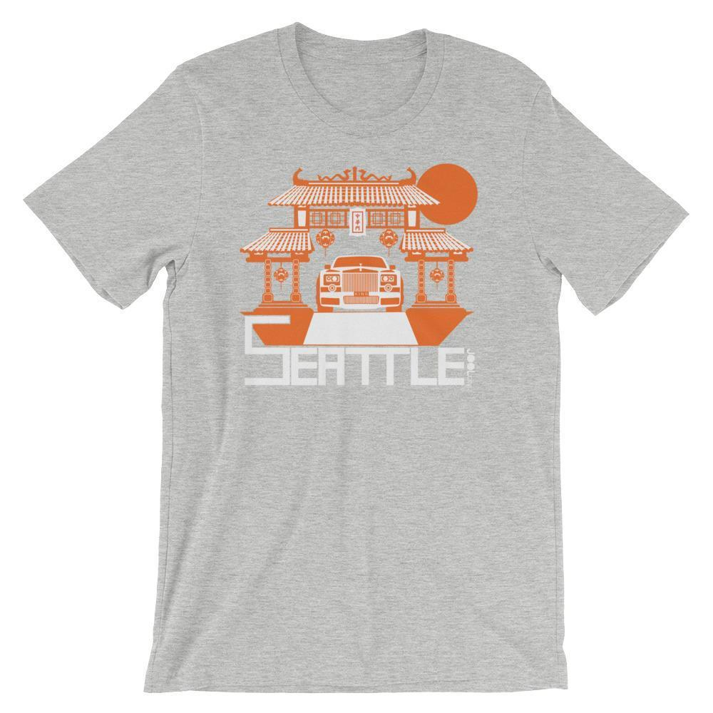 Seattle Chinatown Rolls Short-Sleeve Men's T-Shirt T-Shirt Athletic Heather / 2XL designed by JOOLcity