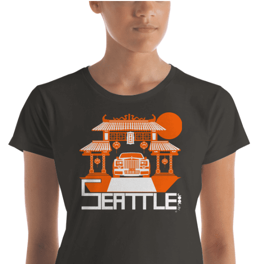 Seattle Chinatown Rolls Women's Short Sleeve T-shirt T-Shirt  designed by JOOLcity