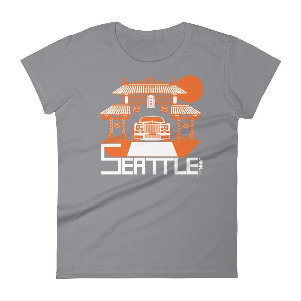 Seattle Chinatown Rolls Women's Short Sleeve T-shirt T-Shirt Storm Grey / 2XL designed by JOOLcity