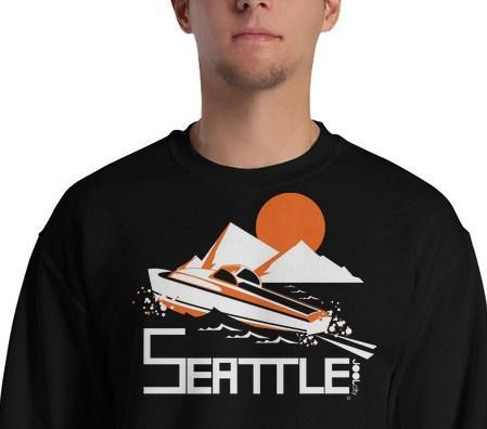 Seattle Cruiser Cruising Sweatshirt
