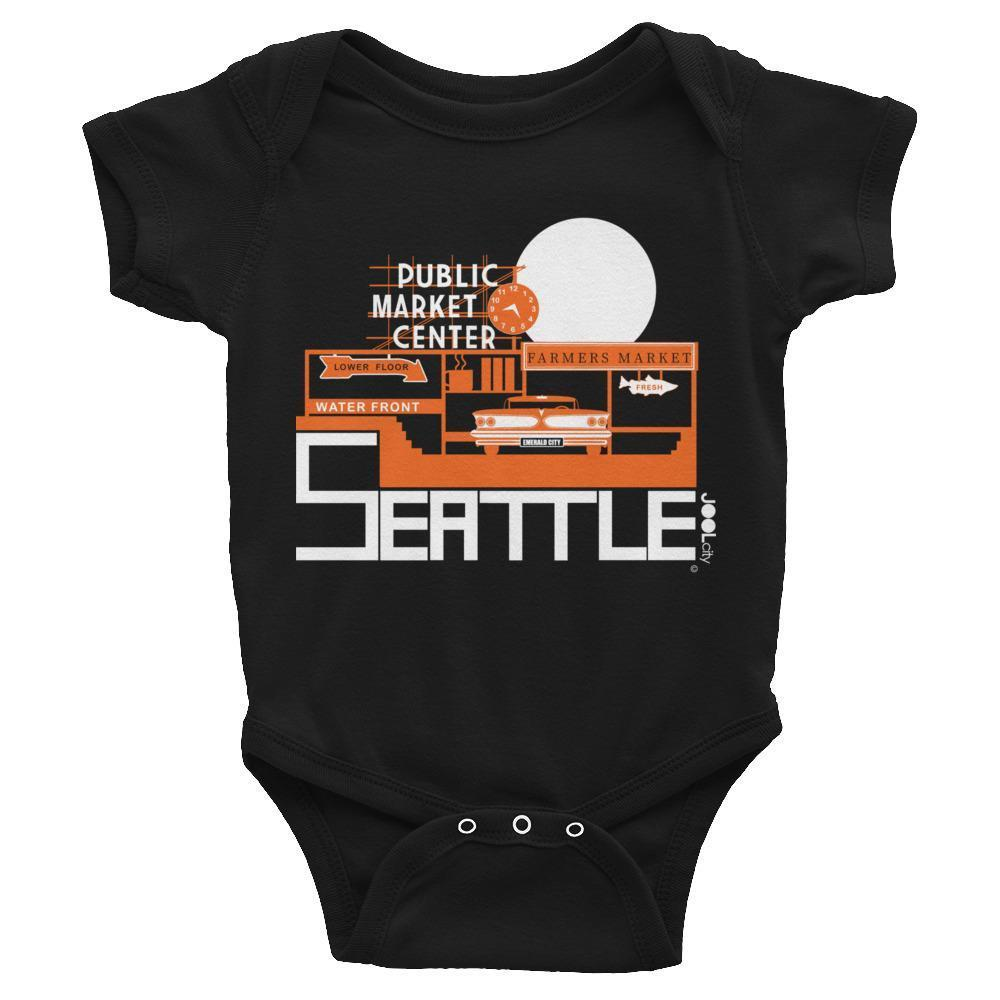 Seattle Market Ride Baby Onesie
