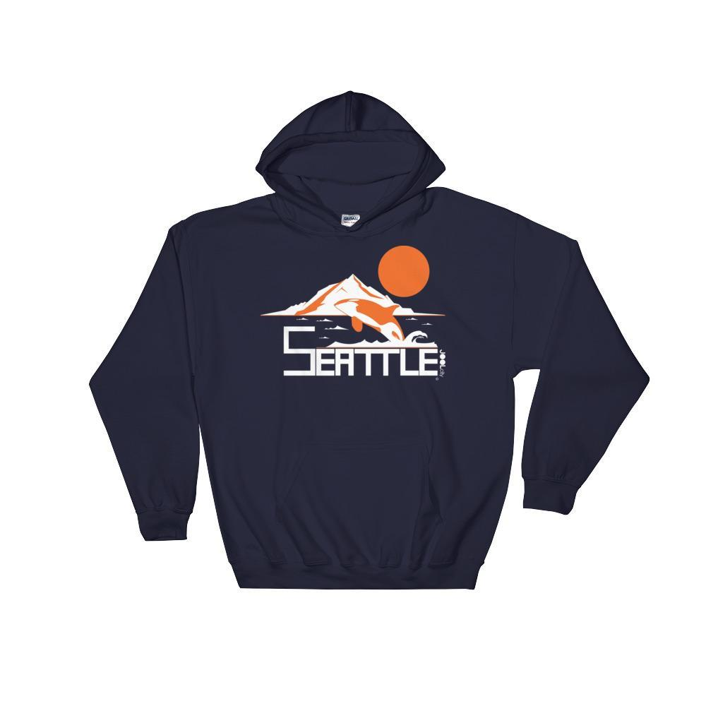 Seattle Orca Love Hooded Sweatshirt