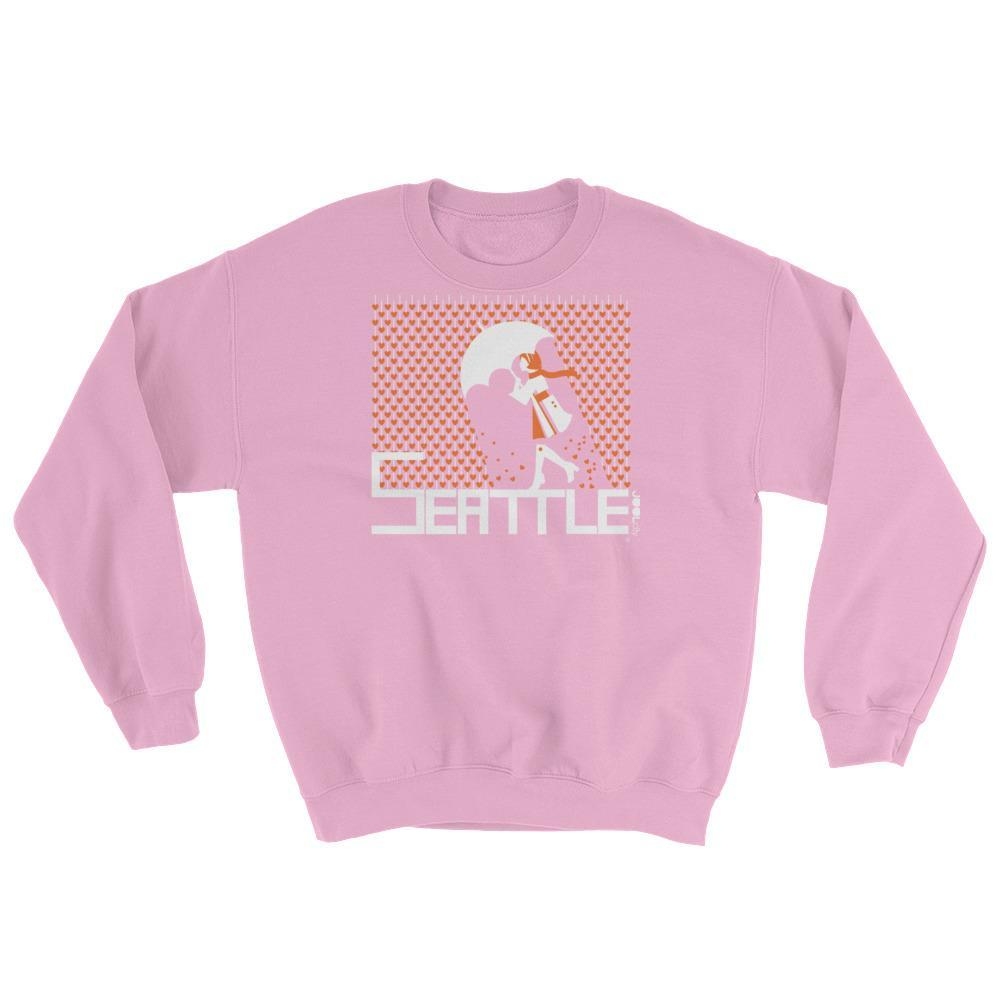 Seattle Raining Hearts Sweatshirt