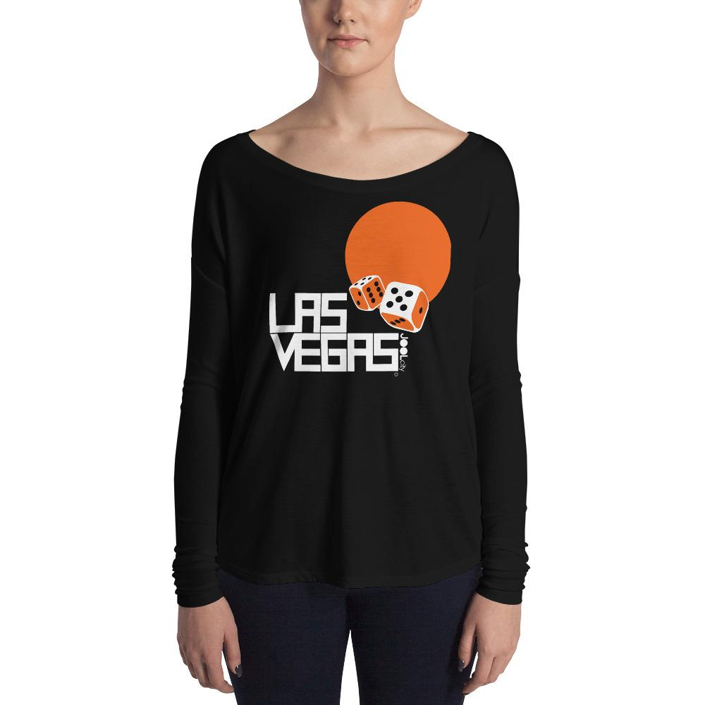 Las Vegas Dice Roll Ladies' Long Sleeve Tee