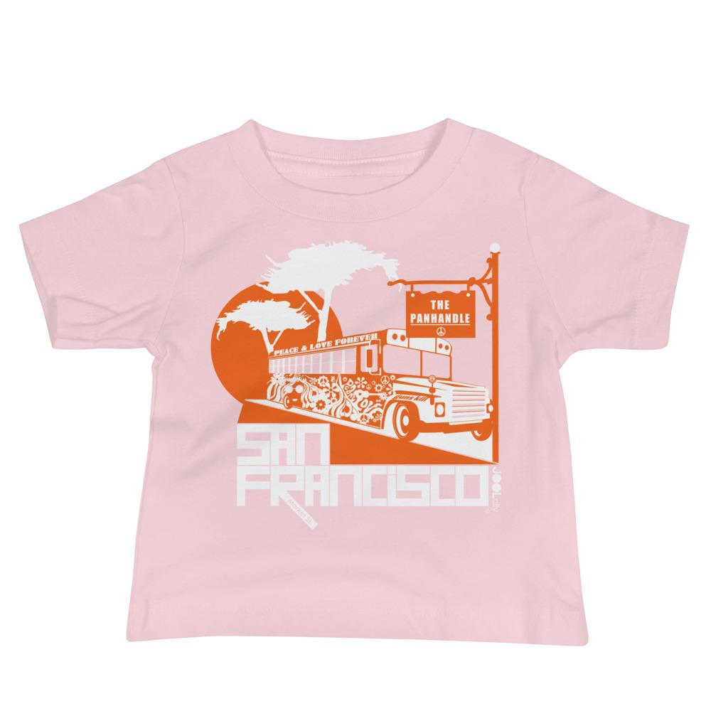 San Francisco Blissful Bus Baby Jersey Short Sleeve Tee