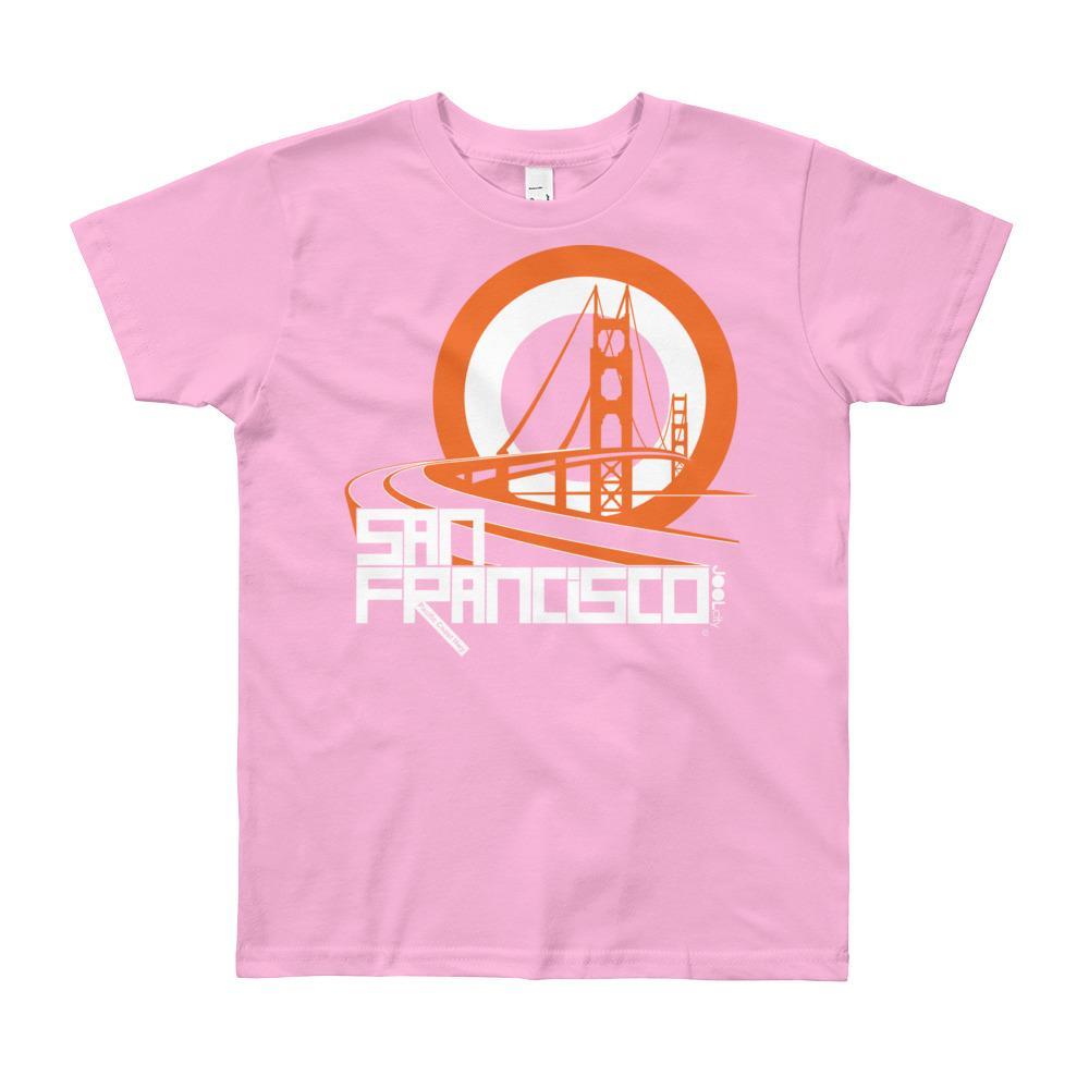 San Francisco Golden Gate Groove Youth Short Sleeve T-Shirt