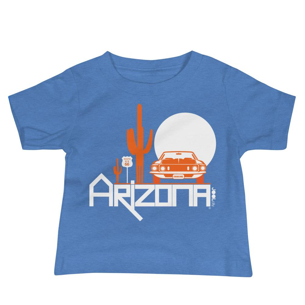 Arizona Cactus Cruise Baby Jersey Short Sleeve Tee T-Shirts Heather Columbia Blue / 18-24m designed by JOOLcity