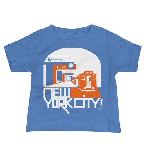 New York Broadway Bound Baby Jersey Short Sleeve Tee