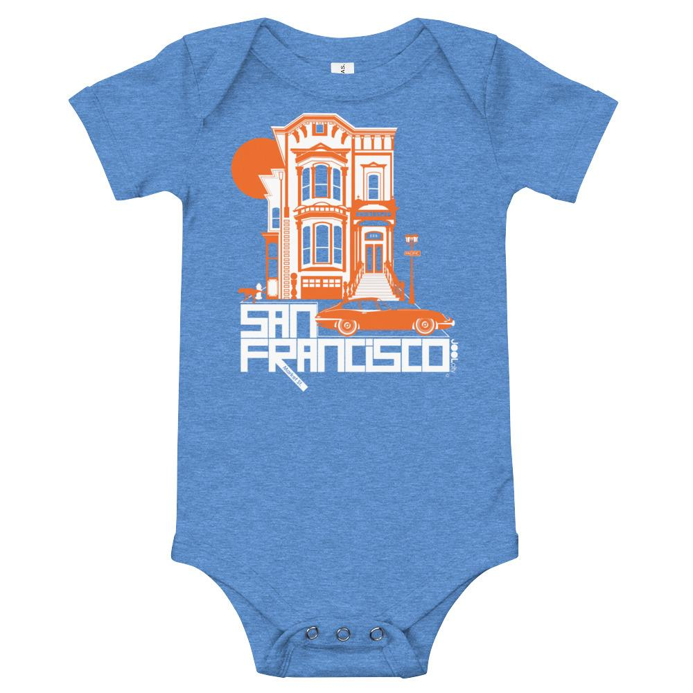 San Francisco Victorian Dream Baby Onesie
