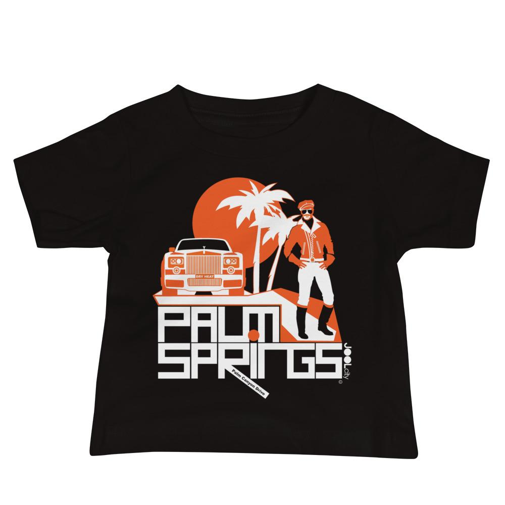 Palm Springs Rolling Pose Baby Jersey Short Sleeve Tee