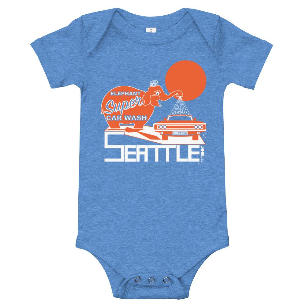 Seattle Ellie Wash Baby Onesie