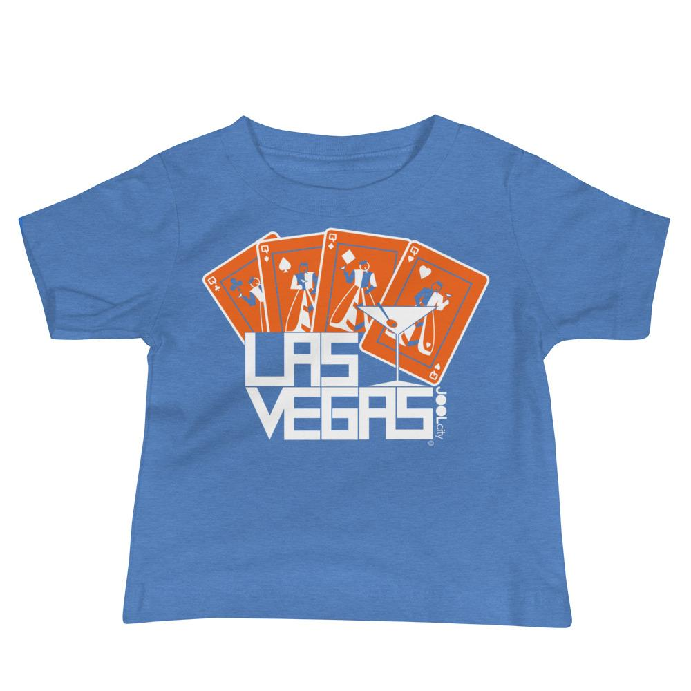 Las Vegas Card Shark Baby Jersey Short Sleeve Tee T-Shirts Heather Columbia Blue / 18-24m designed by JOOLcity