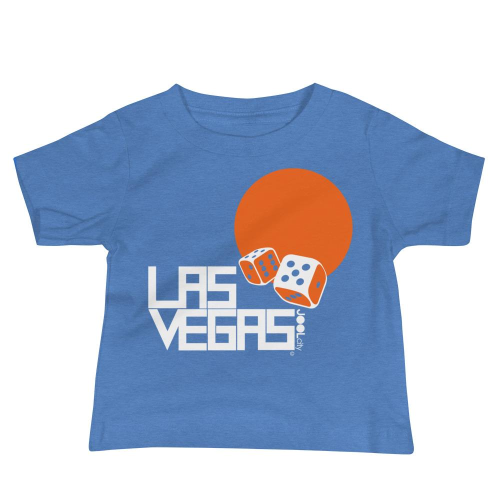 Las Vegas Dice Roll Baby Jersey Short Sleeve Tee T-Shirts Heather Columbia Blue / 18-24m designed by JOOLcity