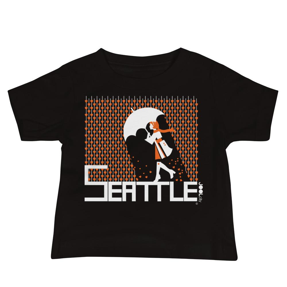 Seattle Raining Hearts Baby Jersey Short Sleeve Tee