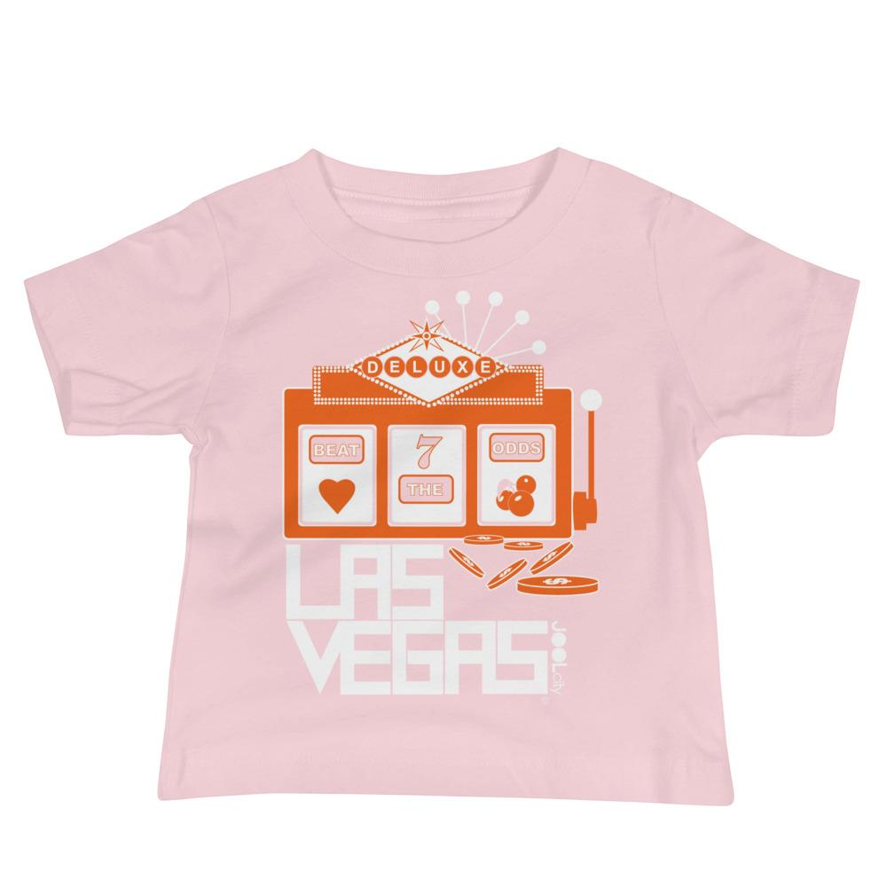 Las Vegas Beat the Odds Baby Jersey Short Sleeve Tee T-Shirts Pink / 18-24m designed by JOOLcity