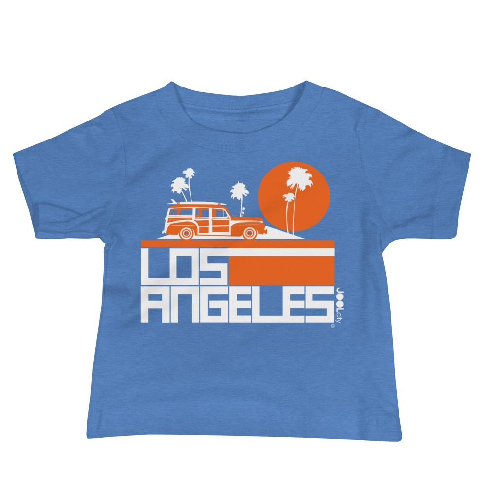 Los Angeles Woody Wagon Baby Jersey Short Sleeve Tee