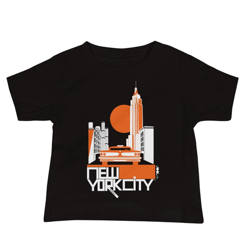 New York Empire State Baby Jersey Short Sleeve Tee
