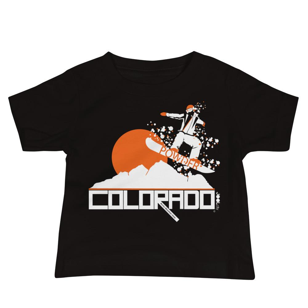 Colorado Shredding Baby Jersey Short Sleeve Tee T-Shirts Black / 18-24m designed by JOOLcity