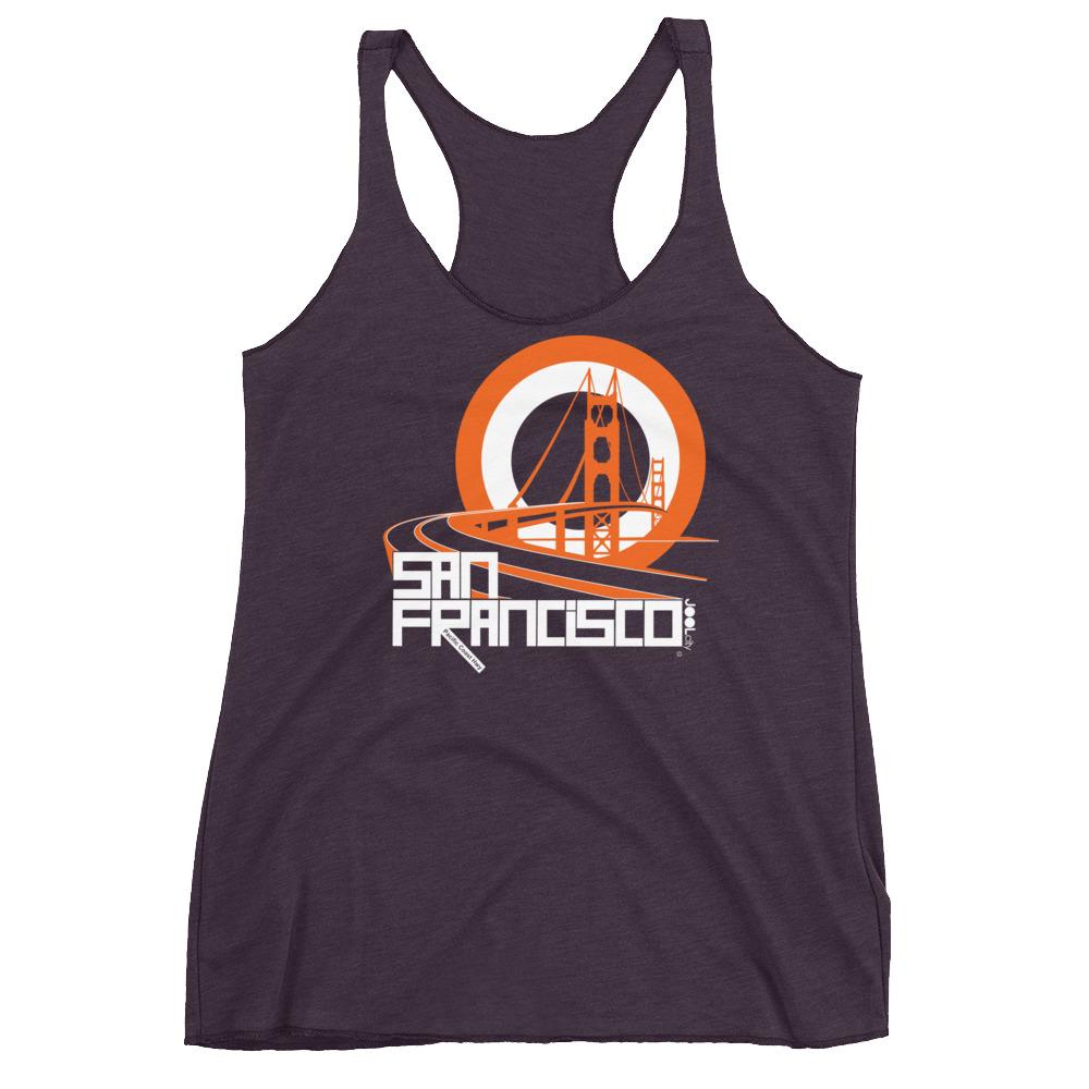 San Francisco Golden Gate Groove Women's Racerback Tank