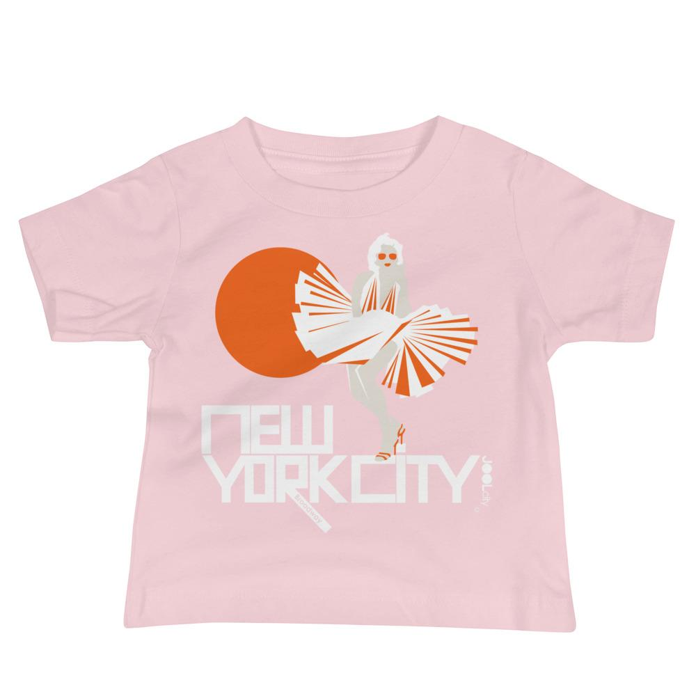 New York My Girl Baby Jersey Short Sleeve Tee
