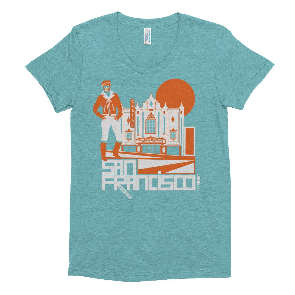 San Francisco Castro Daddy Women's Short Sleeve T-shirt