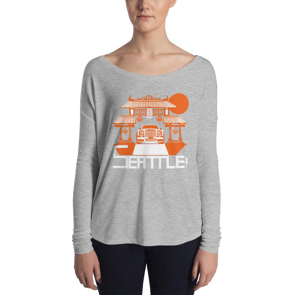 Seattle Chinatown Rolls Ladies' Long Sleeve Tee