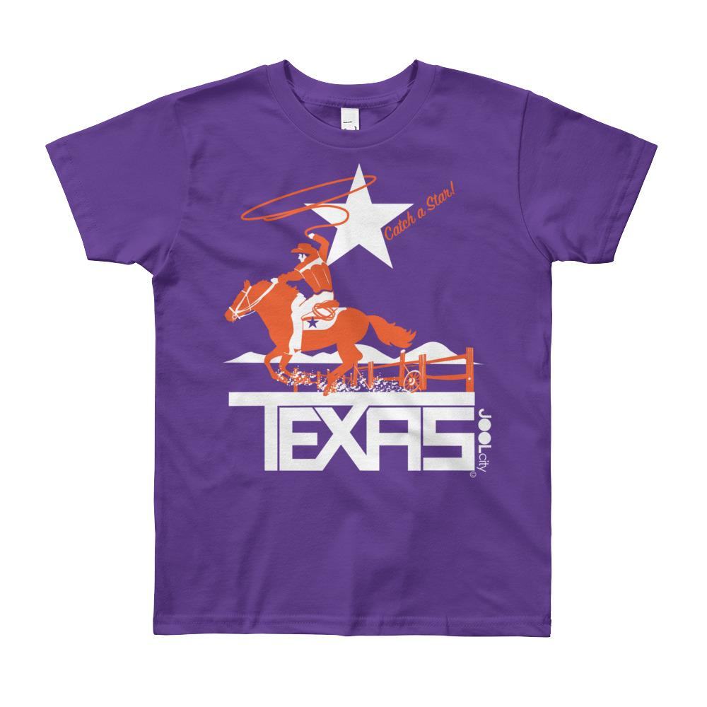 Texas Wrangling Roper Youth Short Sleeve T-Shirt