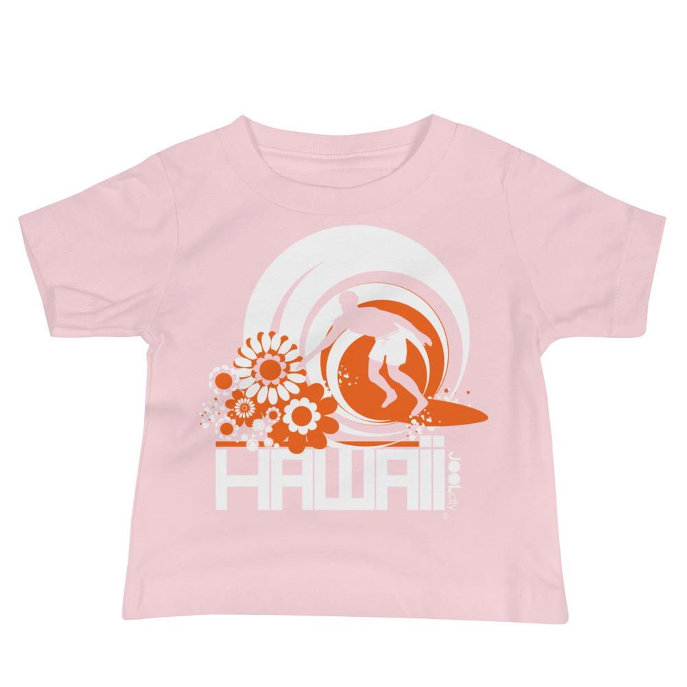 Hawaii Ripcurl Kid Baby Jersey Short Sleeve Tee T-Shirts Pink / 18-24m designed by JOOLcity