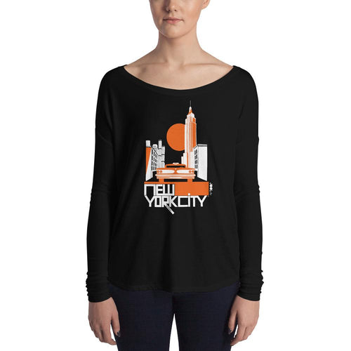 New York Empire State Ladies' Long Sleeve Tee