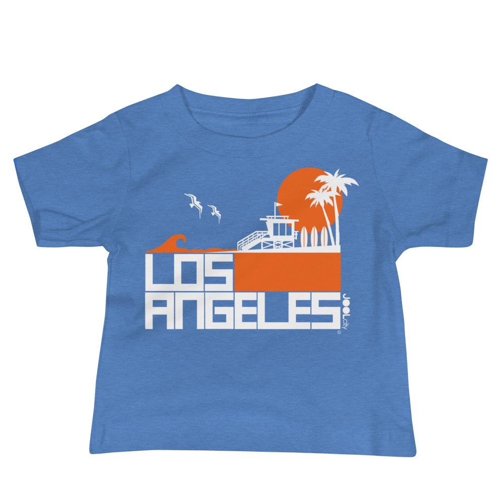 Los Angeles Lifeguard Love Baby Jersey Short Sleeve Tee