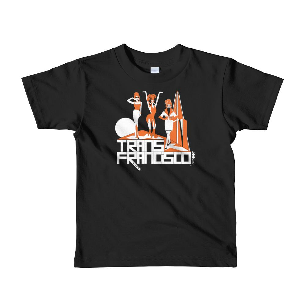San Francisco Trans Town Short Sleeve Toddler T-shirt T-Shirts Black / 6yrs designed by JOOLcity