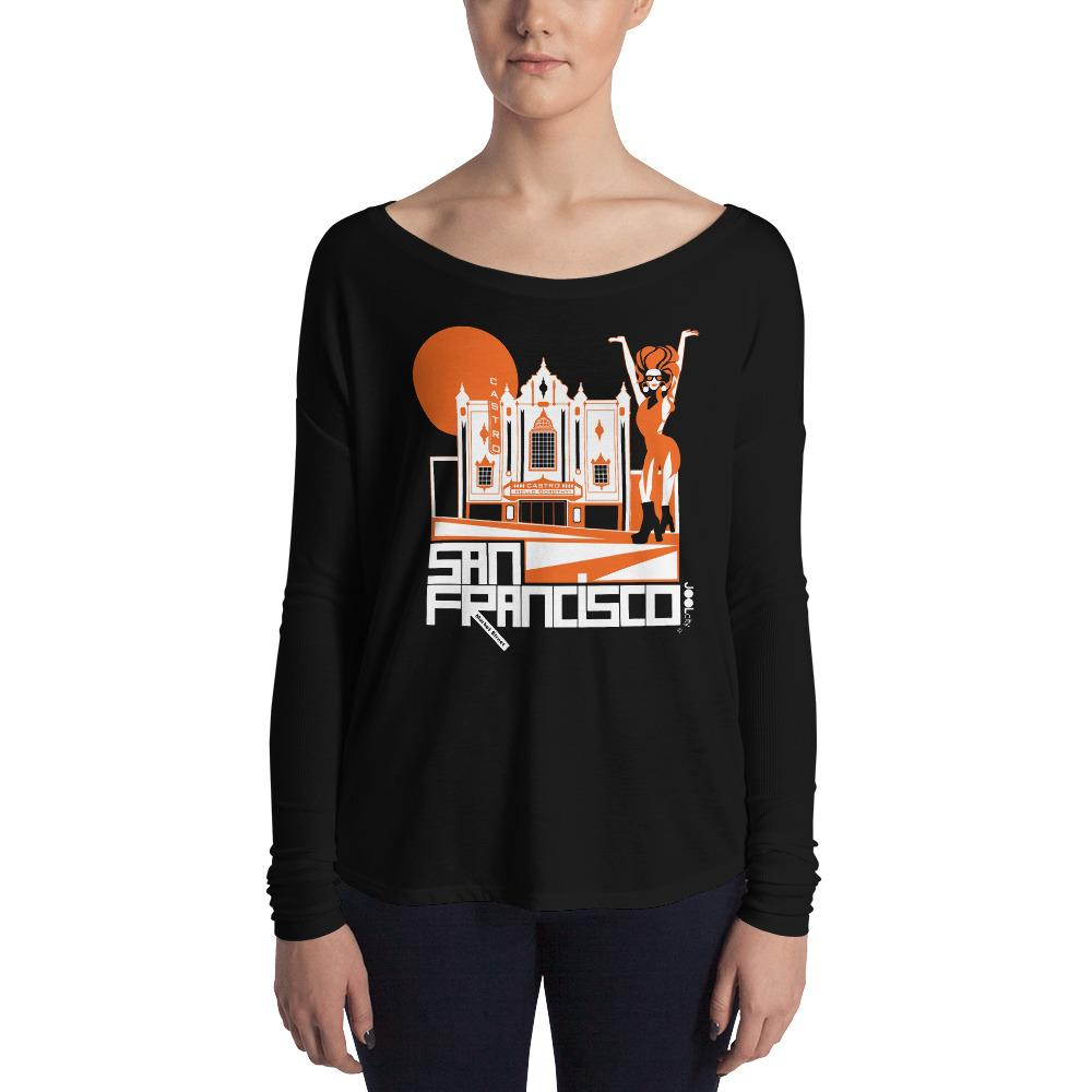 San Francisco Castro Diva Ladies' Long Sleeve Tee