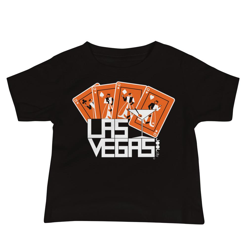 Las Vegas Card Shark Baby Jersey Short Sleeve Tee T-Shirts Black / 18-24m designed by JOOLcity