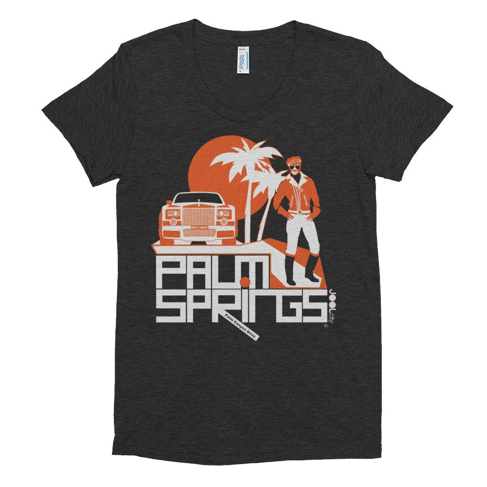 Palm Springs Rolling Pose Women's Short Sleeve T-shirt