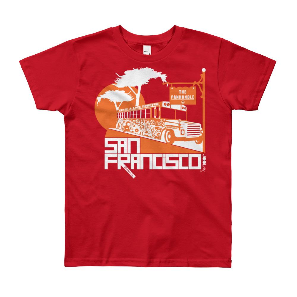 San Francisco Blissful Bus Youth Short Sleeve T-Shirt