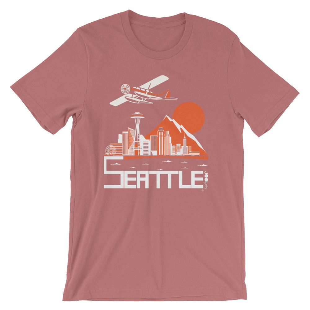Seattle Soaring Seaplane Short-Sleeve Men's T-Shirt