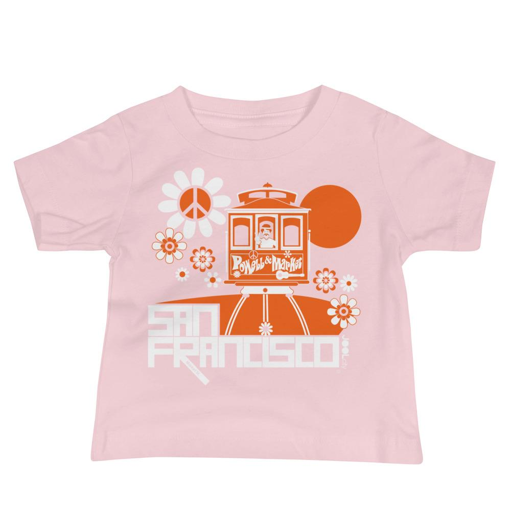 San Francisco Cable Car Groove Baby Jersey Short Sleeve Tee