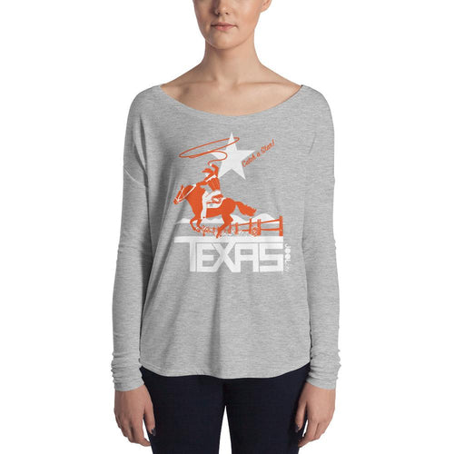 Texas Wrangling Roper Ladies' Long Sleeve Tee
