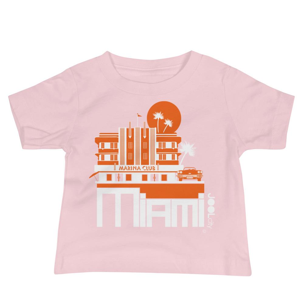 Miami Beach Vette Baby Jersey Short Sleeve Tee