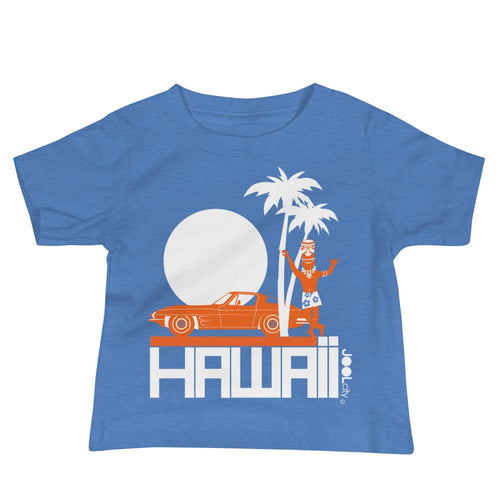 Hawii Tiki Guy Ride Baby Jersey Short Sleeve Tee T-Shirts Heather Columbia Blue / 18-24m designed by JOOLcity