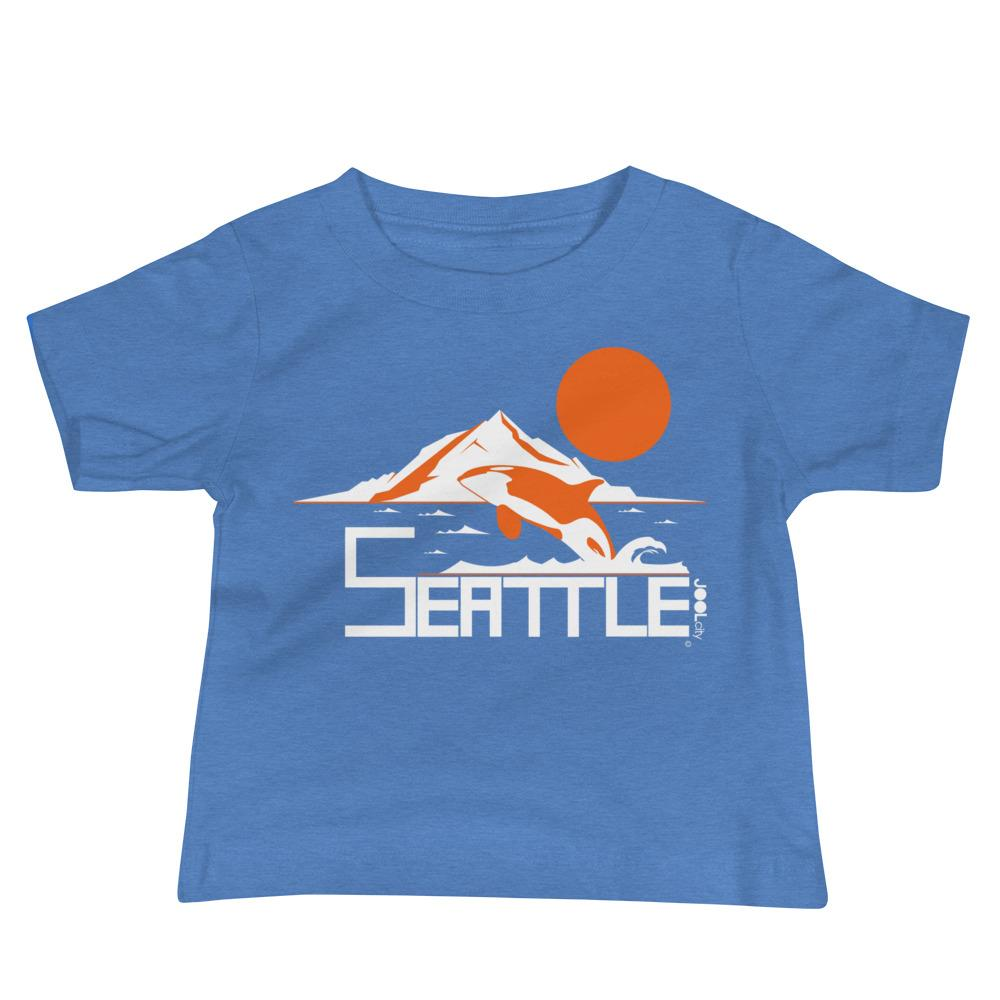 Seattle Orca Love Baby Jersey Short Sleeve Tee