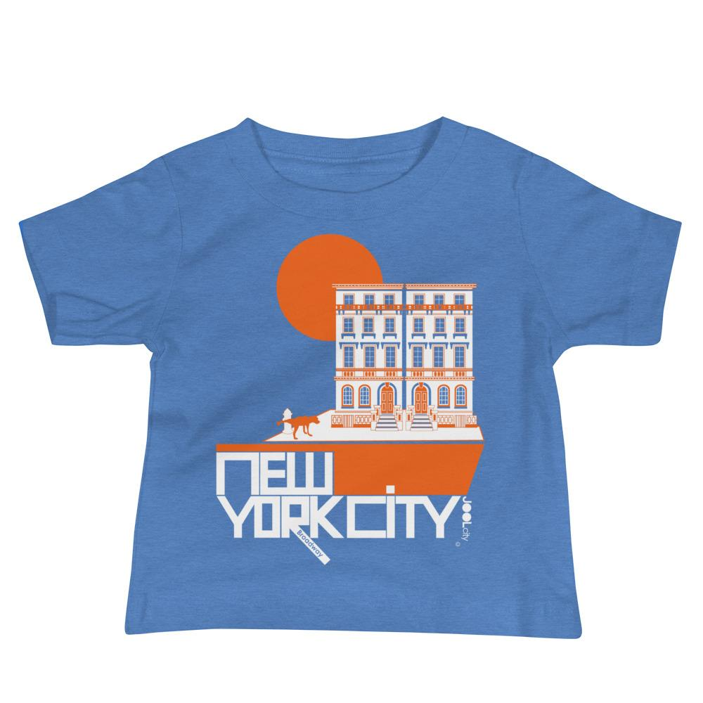 New York Brownstone Doggy Baby Jersey Short Sleeve Tee