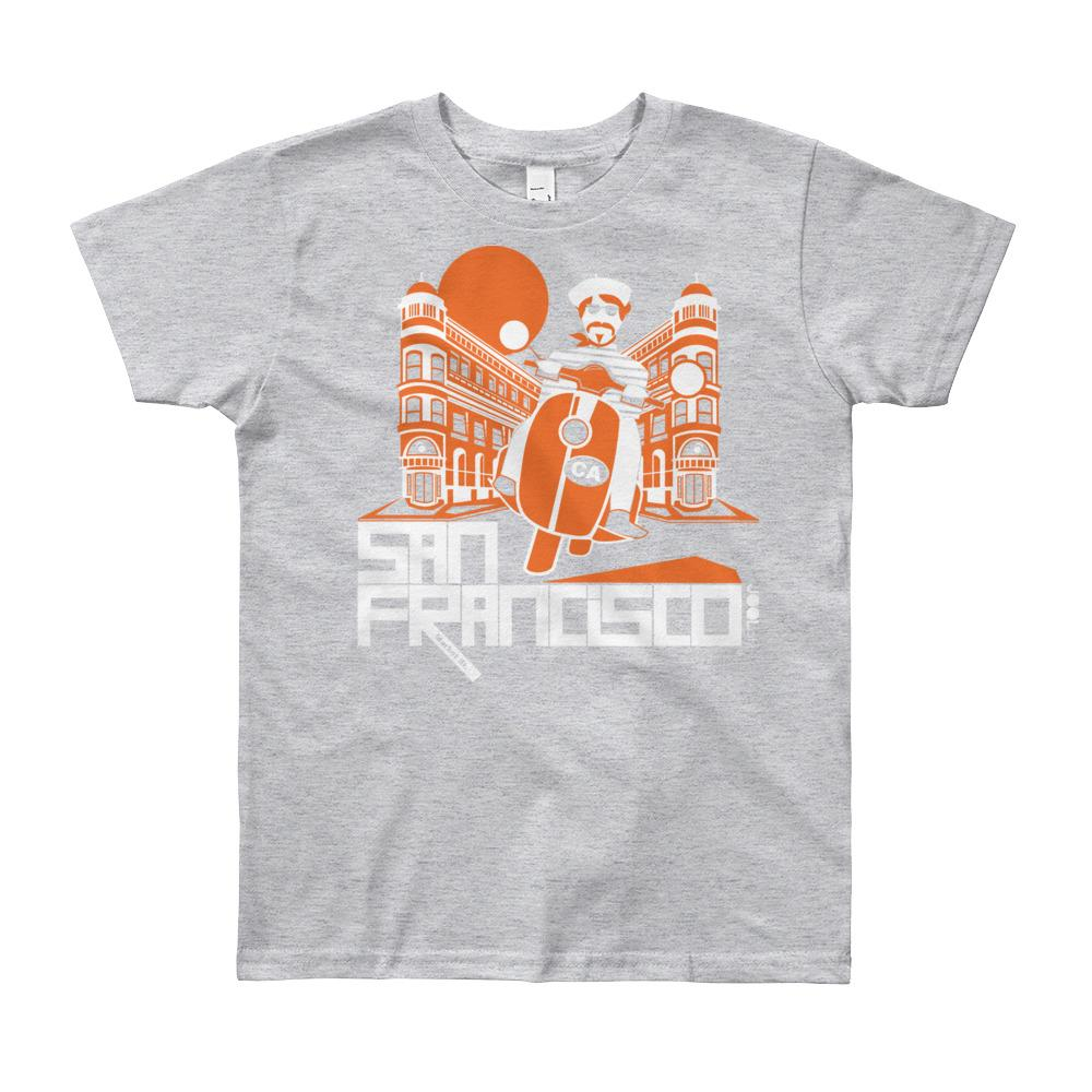 San Francisco Buddy Beatnik Youth Short Sleeve T-Shirt