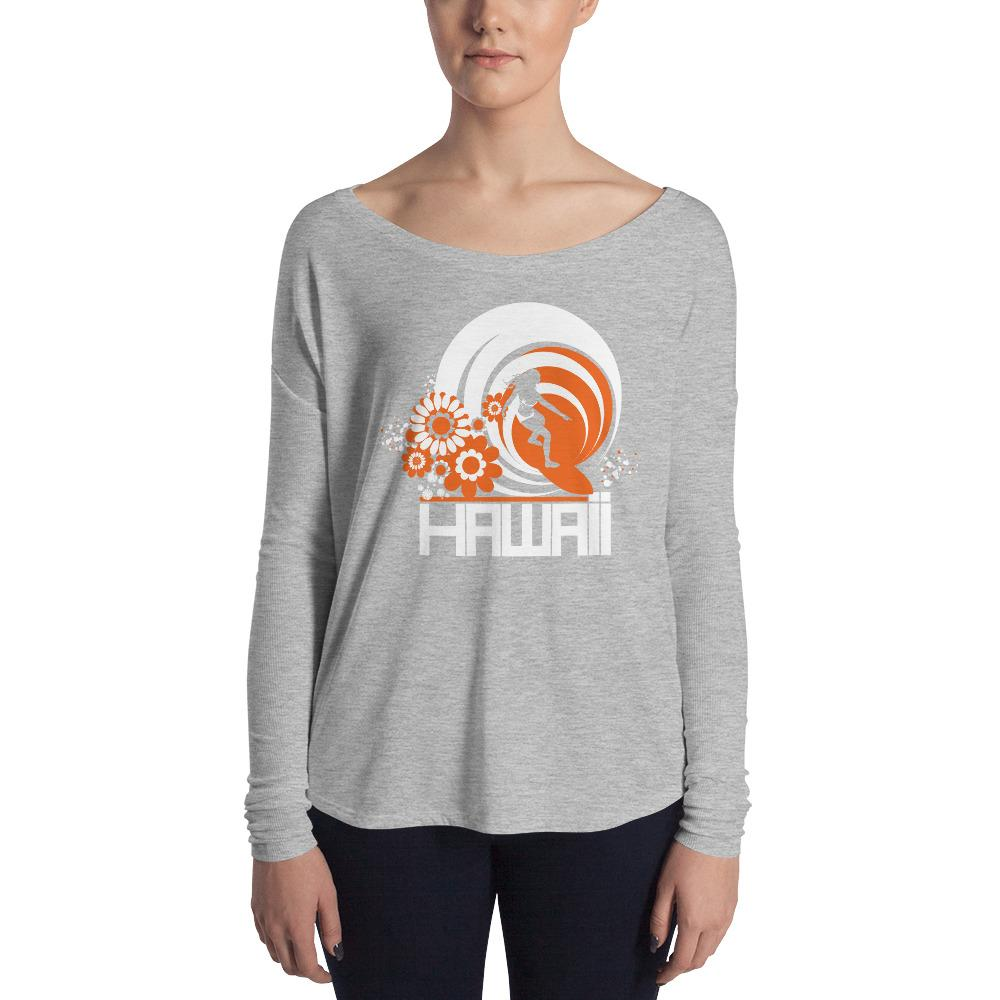 Hawaii Ripcurl Girl Ladies' Long Sleeve Tee