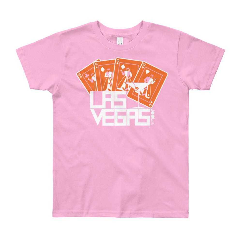 Las Vegas Card Shark Youth Short Sleeve T-Shirt
